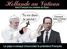 hollande au vatican