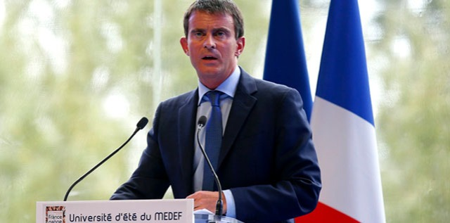 Valls-université-du-MEDEF-Auto-Entrepreneur