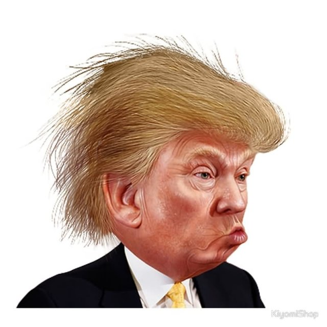 cartoon-donald-trump-with-pouting-face-funny-picture