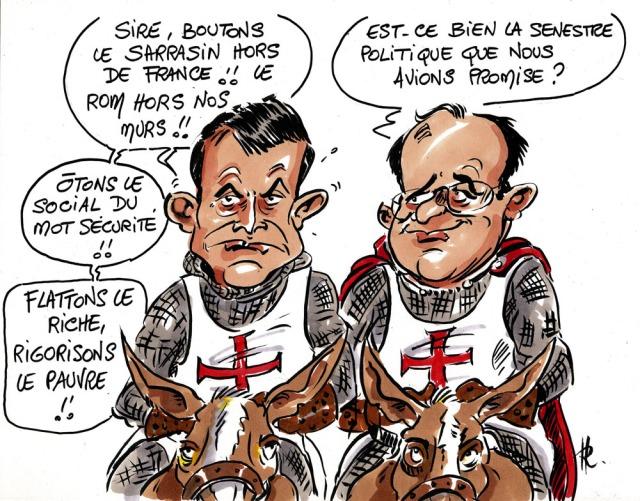 La croisade de Valls et Hollande